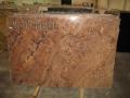 Granite slab Juparana Bordeaux
