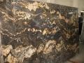 Granite slab Magma Black