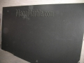 Granite slab absolute black honed