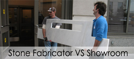 Stone Fabricator VS Showroom